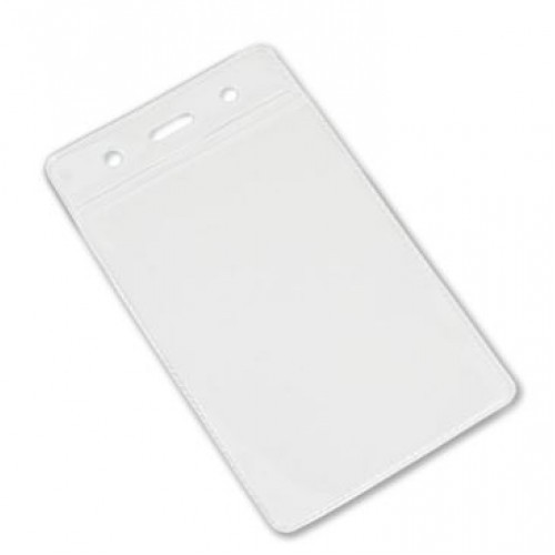 PVC ID Portrait Card Holder 60mm x 90mm Pk25