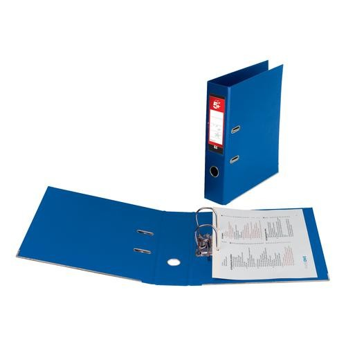 *SINGLE* 5 Star Office PP L/Arch File A4 Blue
