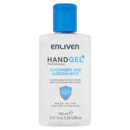 Enliven 60% Ethanol hand sanitizer 100ml Cucumber and Garden Mint (Non Returnable)*