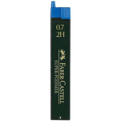 *SINGLE* SUPER-POLYMER FINELINE LEADS - TUBE OF 12 LEADS 0.70MM 2H