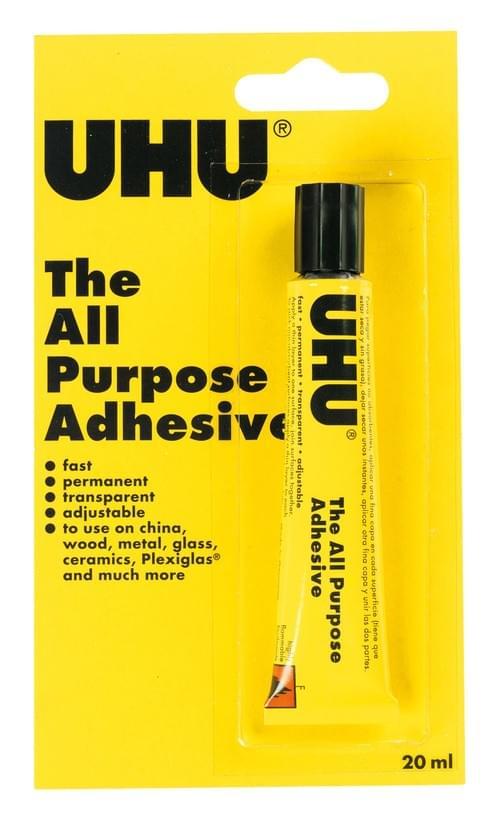 Uhu All Purpose Glue 20ml Tube