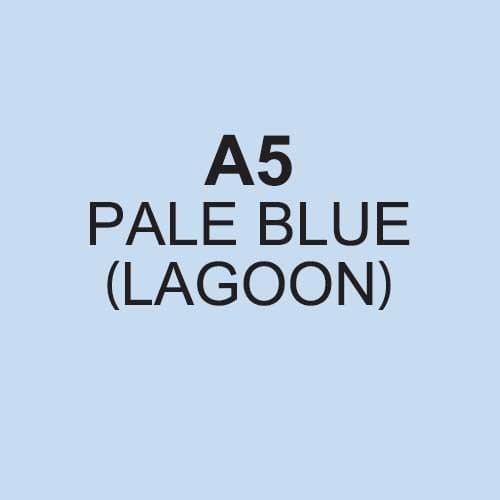 REAM A5 COLORACTION  BLUE PAPER 80GSM
