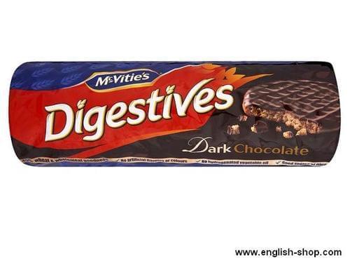 McVities Digestives Dark Chocolate PK 15