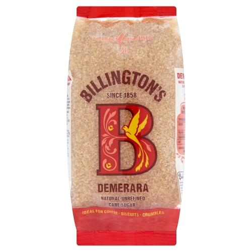 Billington's Natural Demerara Unrefined Cane Sugar 1kg