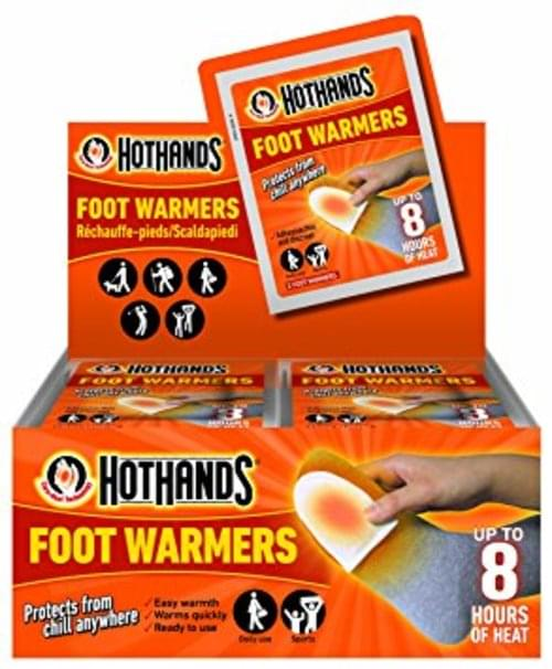Foot Warmers Pk2 (Non-Returnable)