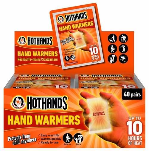 Hand Warmers Pk2 (Non-Returnable)
