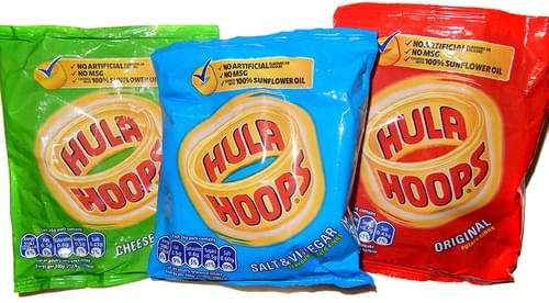 Hula Hoops Assorted Pk30