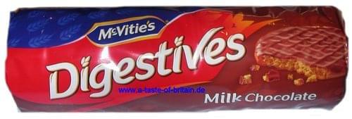 McVities Milk Chocolate Digestives Pk15
