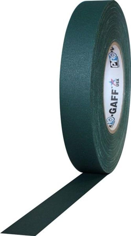 ProGaff Camera Tape 24mmx25yds (1 Inch) Green