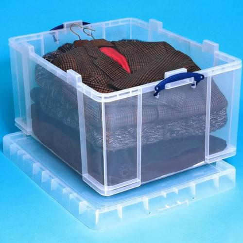 Really Useful Products 145L Box Clear