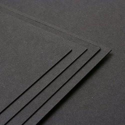 Black A4 Card
