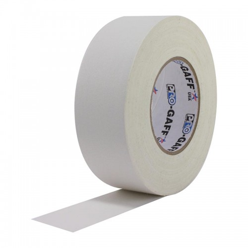 ProGaff Camera Tape 48mmx25yds (2 Inch) White