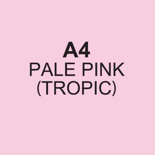 Image Coloraction Tropic FSC Mix Credit A4 210x297 mm 80Gm2 Pale Pink Pack of 500