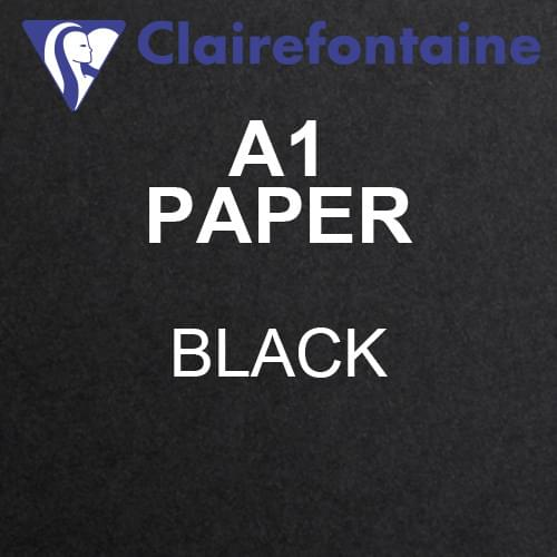 *SINGLE* Maya A1 Black Acid Free 120gsm Paper 594 x 841mm