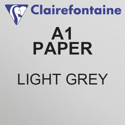 Maya A1 Light Grey Acid Free 120gsm Paper 594 x 841mm PK50