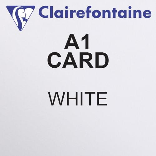 *SINGLE* Maya A1 White Acid Free 270gsm Card 594 x 841mm