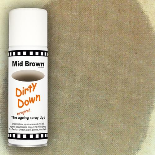Dirty Down Mid Brown ageing spray