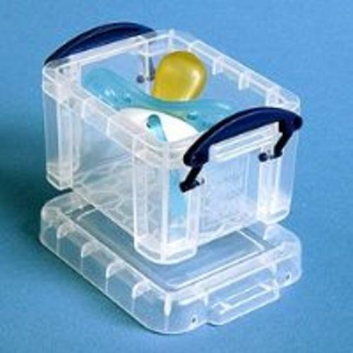 Really Useful 0.14 Litre Clear Storage Box
