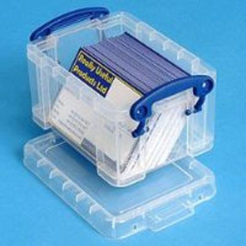 Really Useful 0.3 Litre Clear Storage Box