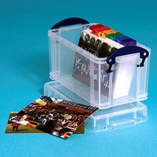 Really Useful 2.1 Litre Clear Storage Box