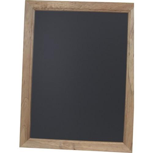 Dark Oak Framed Wallmounted Chalkboard