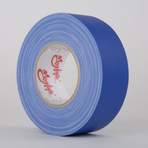 TAPE CLOTH CHROMACOLOR BLUE 50MM X 50M