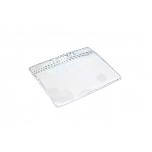 PVC ID Landscape Card Holder 90mm x 60mm Pk25