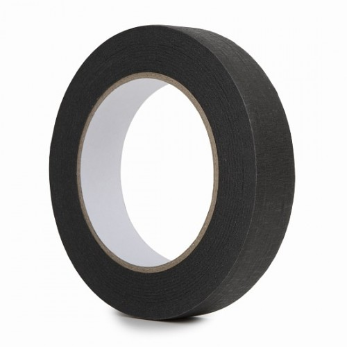 Black Masking Tape 24mm x 50m