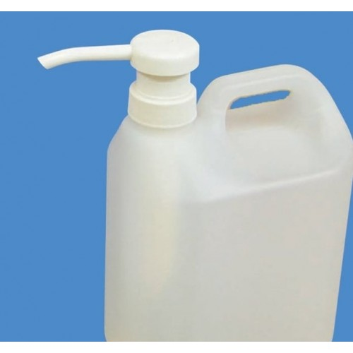 5 Litre 70% Alcohol gel hand sanitiser with free pump (Non returnable, non cancellable)*