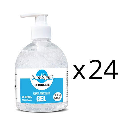 Panodyne Hand Sanitizer 500ml Pump top 70% (x24)
