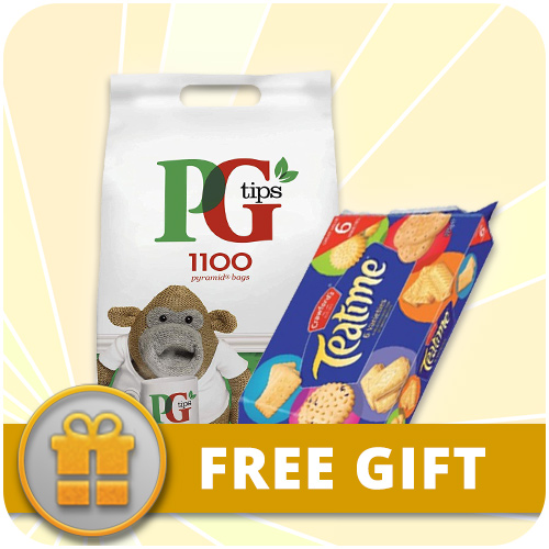 FREE Crawford's Teatime Biscuits with PG Tips Tea Bags