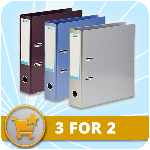 3 for 2 on Elba Strongline Lever Arch Files