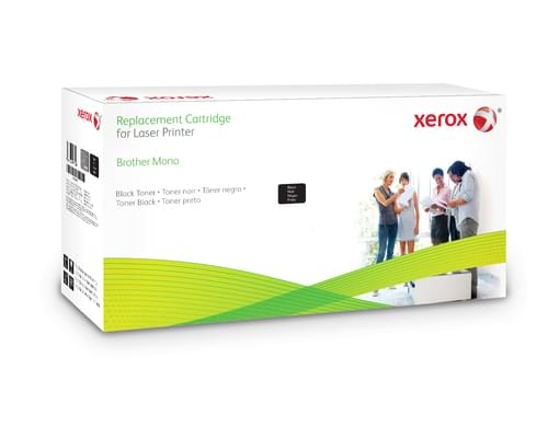 Xerox Replacement Brother Black Toner Cartridge - 6400 Page Yield - Replaces TN6600