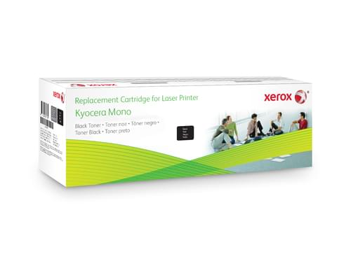 Xerox Replacement Kyocera Black Toner Cartridge - 7200 Page Yield - Replaces TK-130