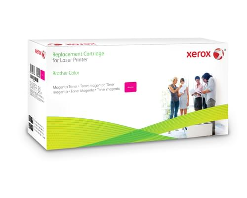 Xerox Replacement Brother Magenta Toner Cartridge - 3500 Page Yield - Replaces TN325M