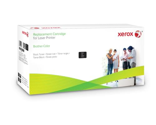 Xerox Replacement Brother Black Toner Cartridge - 6000 Page Yield - Replaces TN328BK