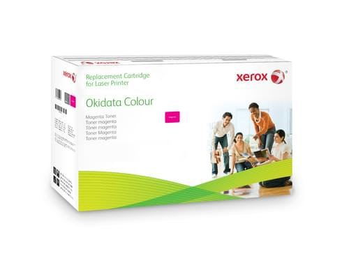 Xerox Replacement OKI Magenta Toner Cartridge - 2000 Page Yield - Replaces 43381906