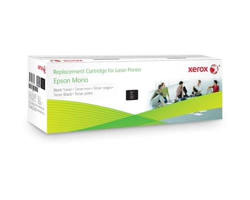 Xerox Replacement Epson Black Toner Cartridge - 6000 Page Yield - Replaces C13S050166