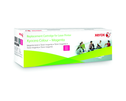 Xerox Replacement Kyocera Magenta Toner Cartridge - 5000 Page Yield - Replaces TK-590M