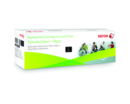 Xerox Replacement Kyocera Black Toner Cartridge - 3800 Page Yield - Replaces TK-580K