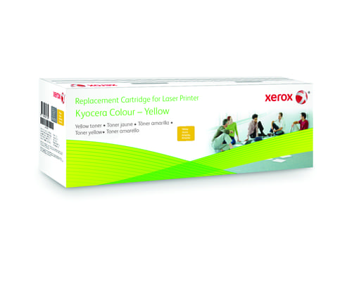 Xerox Replacement Kyocera Yellow Toner Cartridge - 4100 Page Yield - Replaces TK-580Y