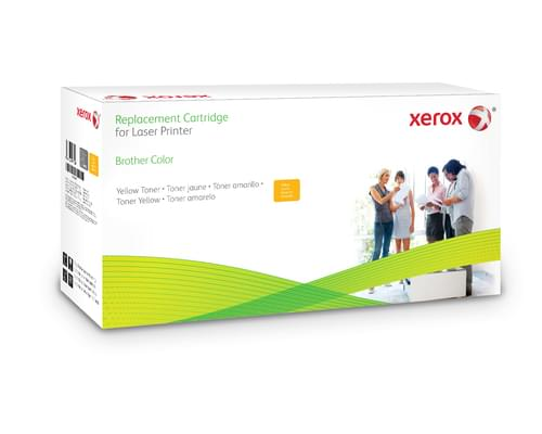 Xerox Replacement Brother Yellow Toner Cartridge - 2300 Page Yield - Replaces TN246Y