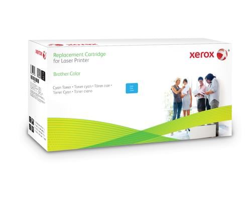 Xerox Replacement Brother Cyan Toner Cartridge - 3500 Page Yield - Replaces TN326C