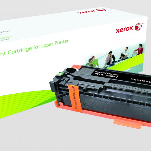Xerox Replacement Canon Black Toner Cartridge - 2600 Page Yield - Replaces CRG-716BK (1980B002)