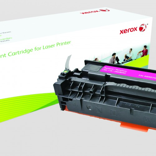 Xerox Replacement Canon Magenta Toner Cartridge - 3000 Page Yield - Replaces CRG-718M (2660B002)