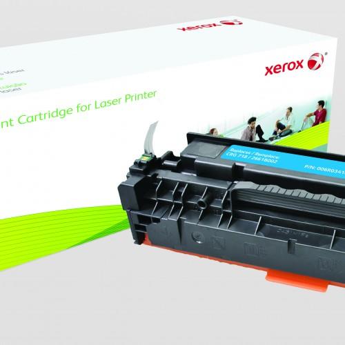 Xerox Replacement Canon Cyan Toner Cartridge - 3000 Page Yield - Replaces CRG-718C (2661B002)