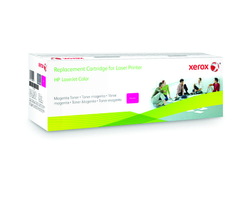 Xerox Replacement HP Magenta Toner Cartridge - 7300 Page Yield - Replaces CE743A