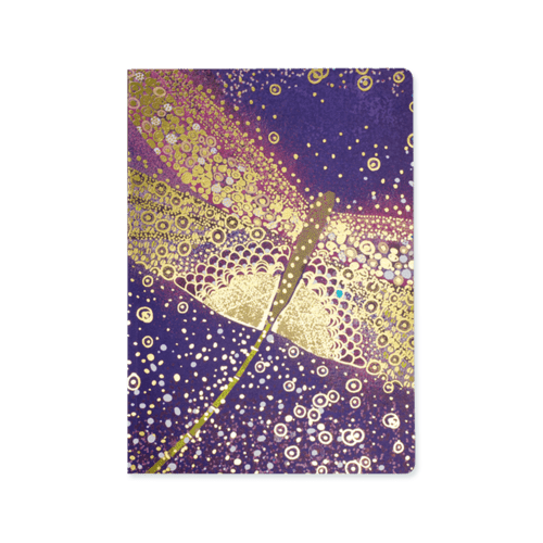 Opium A5 Deluxe Notebook - Dragonfly