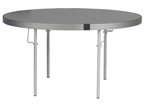 Spaceright Fast Fold Round Table - 635mm High - Grey