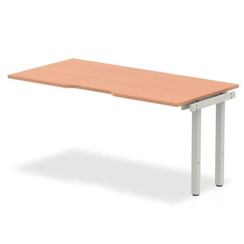Evolve Plus Single Row Desk Extension Kit